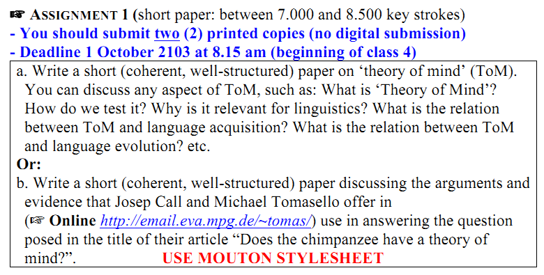 Theory of Mind Term Paper
