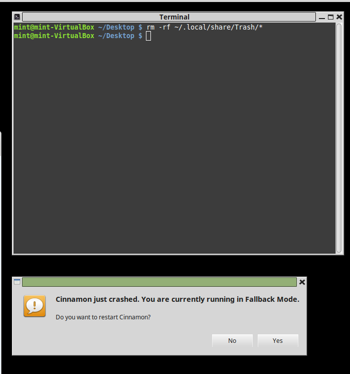 Linux Mint stuck in fallback mode? – Clear Language, Clear Mind