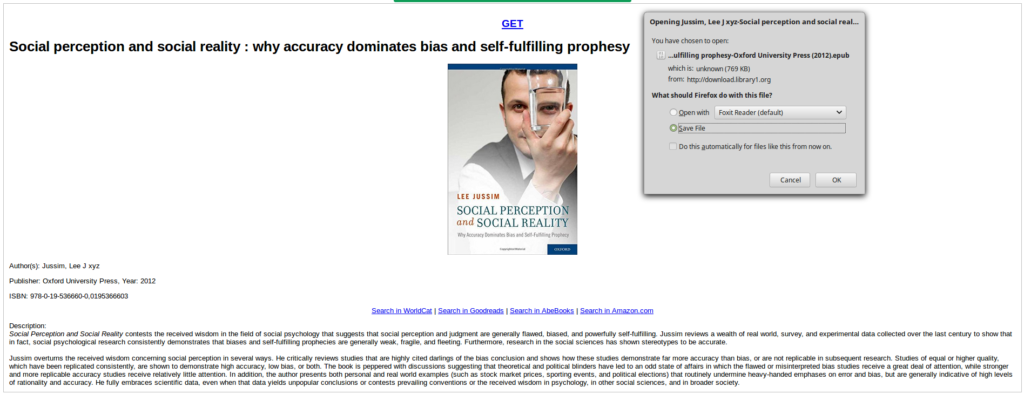 How to download ebooks from Library Genesis (libgen) for