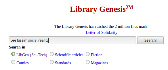 How to download ebooks from Library Genesis (libgen) for free